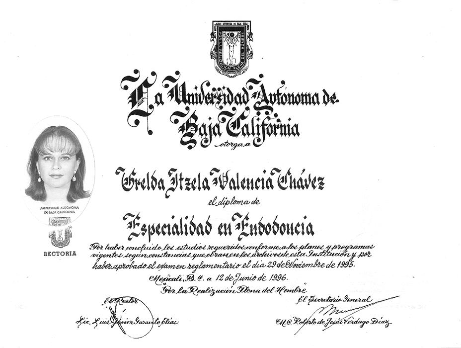 Tijuana dentist certificate