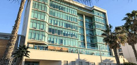 Tijuana orthopedics clinic entrance