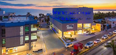 Vallarta neurosurgery clinic entrance