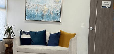 Vallarta neurosurgery clinic lobby