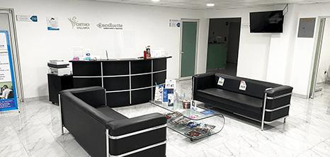 Vallarta aesthetic clinic lobby